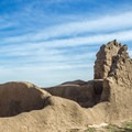 No one knows why the site was abandoned around 1450 AD.- Casa Grande Ruins National Monument