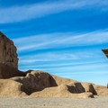 There are other partial structures on the site that show the general outlines of the original compound.- Casa Grande Ruins National Monument