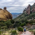 Gorgeous views abound on this popular trail.- Peralta Canyon Trail