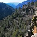 Oak Creek Canyon.- The Overlook