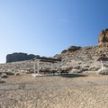 Day use and parking area at Fort Rock.- Fort Rock State Natural Area