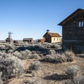Fort Rock Homestead Museum.- Fort Rock Homestead Museum