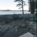 Water pump at Thompson Reservoir Campground.- Thompson Reservoir Campground