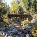 Cold Springs Campground.- Mineral King Valley