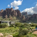 Even the overflow camping loop has fantastic views!- Lost Dutchman State Park Campground