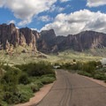 The different loops are quite far apart, giving every site a great view.- Lost Dutchman State Park Campground