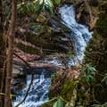 The cascade below the dam.- Catawba Falls