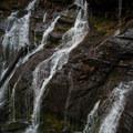A closer look at Catawba Falls.- Catawba Falls
