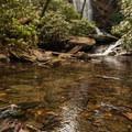 Upper Catawba Falls.- Catawba Falls