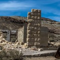 Not only are the buildings interesting, the hills around the town are beautiful.- Rhyolite Ghost Town
