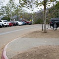 Parking lot at Golfcrest Drive.- Cowles Mountain, Golfcrest Drive Trailhead