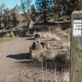 Steelhead falls is just a half mile from the parking area.- Steelhead Falls
