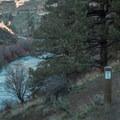 The first views of the Deschutes River.- Steelhead Falls