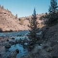 The Deschutes River Valley.- Steelhead Falls