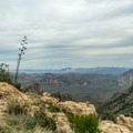 On a clear day, you can see for miles!- Peralta Canyon Trail