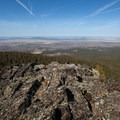 The view southwest from Hager Mountain.- Hager Mountain Fire Lookout