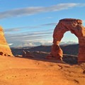 Late afternoon Delicate Arch.- Delicate Arch