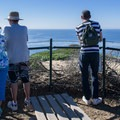 One of several viewpoints along the trail.- Dana Point Headlands Conservation Area