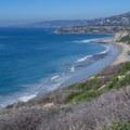 View overlooking the Strand, a popular surf spot.- Dana Point Headlands Conservation Area