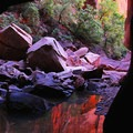 Pine Creek flows only occasionally, but still pools remain year round.- Pine Creek Canyoneering