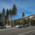 Parking area on the south side of Carson Summit (8574').- Woods Lake