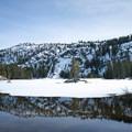Woods Lake (8226').- Woods Lake