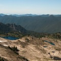 Seven Lakes Basin.- High Divide Loop