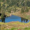 Heart Lake.- High Divide Loop
