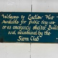 The Ludlow Hut was built by the Sierra Club in 1955.- Ludlow Hut