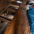 Loft sleeping area.- Ludlow Hut