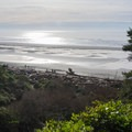 View from the trail down to the beach.- Kalaloch Beach 1