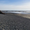 View to the south.- Kalaloch Beach 1