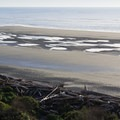 View from the trail.- Kalaloch Beach 1