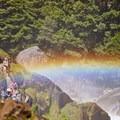 The Mist Trail.- Vernal Falls Hike via Mist Trail