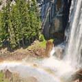 Vernal Falls.- Vernal Falls Hike via Mist Trail