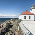 Alki Point Lighthouse.- Alki Point Lighthouse