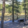 Campsite at Tuolumne Meadows Campground- Tuolumne Meadows