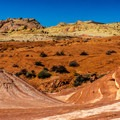 The Fire Wave is a unique and popular hike.- Valley of Fire State Park