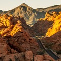 Driving White Mounds Road in Valley of Fire is like visiting another planet!- Valley of Fire State Park