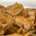 The White Mounds Loop hike has scenery unlike any other in the park.- Valley of Fire State Park