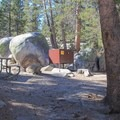 A handful of sites are set among granite boulders. - White Wolf Campground