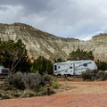 The RV spaces are quite large and have full hookups.- Kodachrome Basin State Park Campground