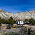 Most of the campsites are quite spacious with incredible views.- Kodachrome Basin State Park Campground