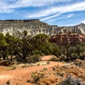 The half-mile nature trail leaves right from the campground.- Kodachrome Basin State Park Campground