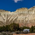 Kodachrome Basin Campground is tucked deep in a gorgeous valley.- Kodachrome Basin State Park Campground