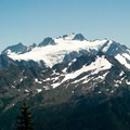Mount Olympus (7,979') from the High Divide Trail.- High Divide Loop