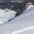 Dirty Martini Chute.- Lassen Peak: Dirty Martini Chute Backcountry Ski