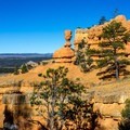 Great views from the Arches Trail.- Arches Trail