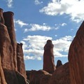 Fiery Furnace, Arches National Park.- Fiery Furnace