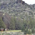 Chimney Rock Trail near the campground.- Chimney Rock Campground